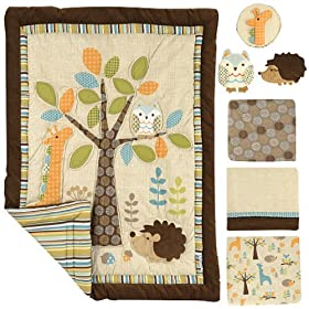 Fresh Graco Piece Crib Bedding Set in The Forest price