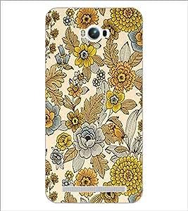 PrintDhaba Floral Design D-1443 Back Case Cover for ASUS ZENFONE MAX ZC550KL (2016) (Multi-Coloured)