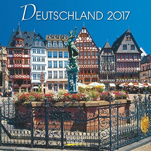 Deutschland 2017 Broschürenkalender: Broschürenkalender mit Ferienterminen