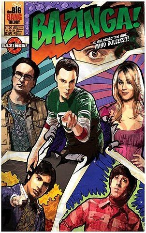 The Big Bang Theory Bazinga Journal - 1