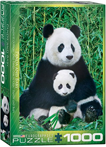 Panda and Baby 1000 Piece Puzzle