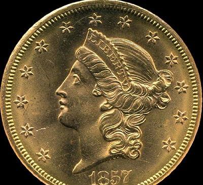 1857 S Liberty Head Twenty Dollar NGC MS66