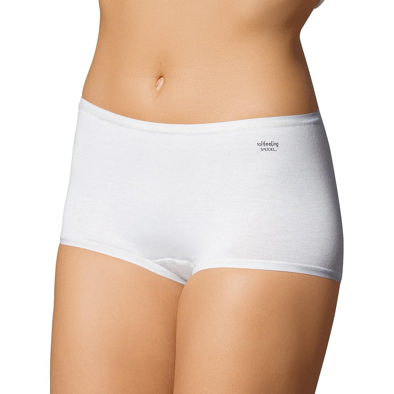 SPEIDEL Damen Pants 5er Pack – SOFTFEELING 9603 Baumwolle+Modal+Elasthan, Farbe Weiss/Schwarz/Skin, Gr. 38-46 günstig