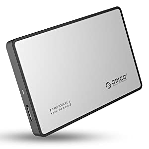 ORICO 2.5インチ SATA対応 USB3.0対応 HDD/SSD外付けドライブケース リムーバブルケース ツール不要簡単着脱 2588US3