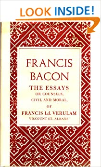 bacon essay of studies analysis