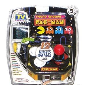 Pac-Man Retro Arcade Plug & Play TV Video Game System