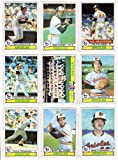 Baltimore Orioles 1979 Topps Baseball Team Set (28 Card Set) (American League Champions)** Mike Anderson, Mark Belanger, Nelson Briles, Al Bumbry, Terry Crowley, Rich Dauer, Doug DeCinces, Rick Dempsey, Mike Flanagan, Kiko Garcia, Larry Harlow, Pat Kelly, Joe Kerrigan, Carlos Lopez, Denny Martinez, Tippy Martinez, Lee May, Scott McGregor, Andres Mora, Eddie Murray, Jim Palmer, Ken Singleton, Dave Skaggs, Billy Smith, Don Stanhouse**