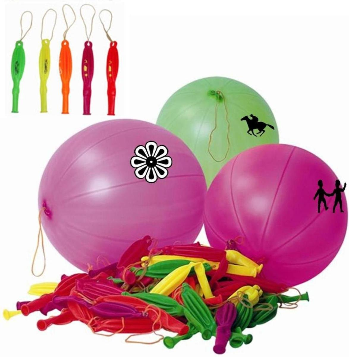 Party-Tüte, Luck Dip-Fun Day, Punchingball-Ballons, 500 Stück günstig