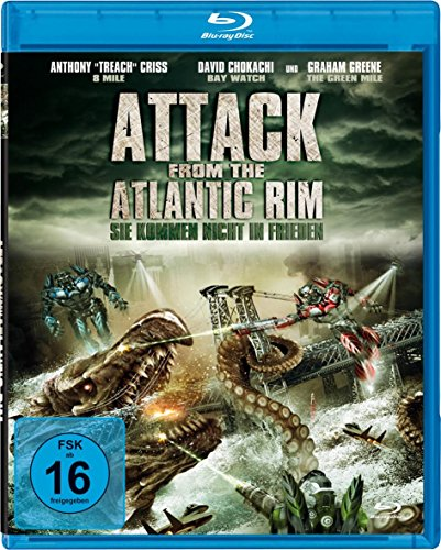 Attack from the Atlantic Rim - Ungeschnittene Fassung [Blu-ray]