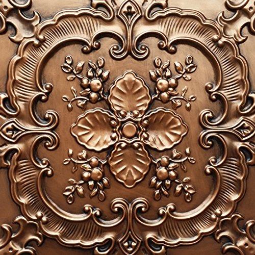 PL19 dalles imitation boîte 3D antique Cuivre Décoration en relief de fond photosgraphie Panneaux muraux 10pieces/lot