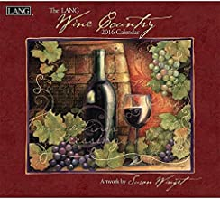 Lang Wine Country 2016 Wall Calendar by Susan Winget, January 2016 to December 2016, 13.375 x 24 Inches (1001885)