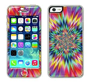 Flapsta iPhone5/5s Gel Case +Front Gel Skin/ Psychedelic Explosion