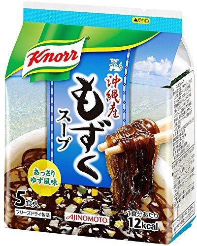 knorr-mozuku-soup-5packs-205gx10-by-ajinomoto-japan