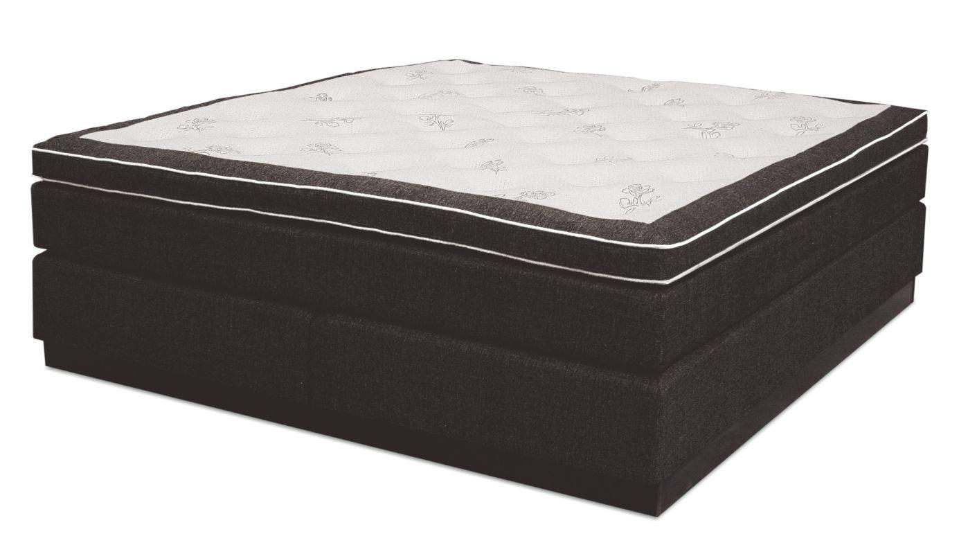 Boxspringbett GUAM, Box: Bonell - Federkern, Matratze: Taschen - Federkern, Top Matress: Taft - Abmessung: 140 x 200 cm