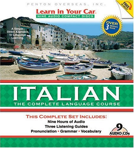 Learn in Your Car Italian: The Complete Language Course [With Guidebook] (Italian Edition)