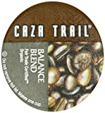 Caza Trail Fair Trade Organic Single Serve Cup for Keurig K-Cup Brewers, Silvery Sky Blend, 52 Count