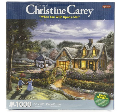 The Art of Christine Carey When You Wish Upon a Star 1000 Piece Puzzle - 1