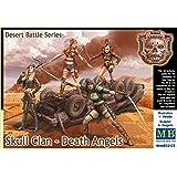 "Master Box Models 1/35 ""Skull Clan Death Angels"" Desert Battle Series 4 Figure Set"