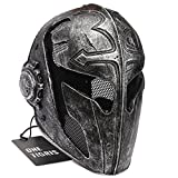 OneTigris Tactical Full Face Protection Knight Mask Templar for Men