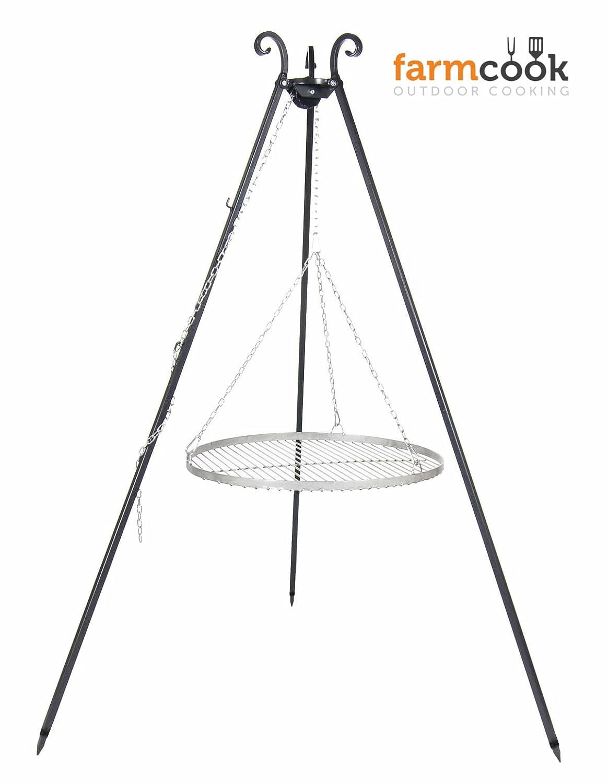 Dreibeingrill VIKING Höhe 180cm incl. Kette und Edelstahlrost Durchmesser 50cm jetzt bestellen