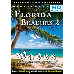 HD Nature TV: Best Florida Beaches 2 / Waves Relaxation Nature Videos