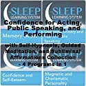 Confidence for Acting, Public Speaking, and Performing with Self-Hypnosis, Guided Meditation, and Subliminal Affirmations Collection: Four in One (The Sleep Learning System)  by Joel Thielke Narrated by Joel Thielke