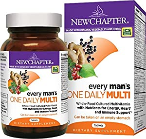 New Chapter Every Man's One Daily Multivitamin - 72 ct