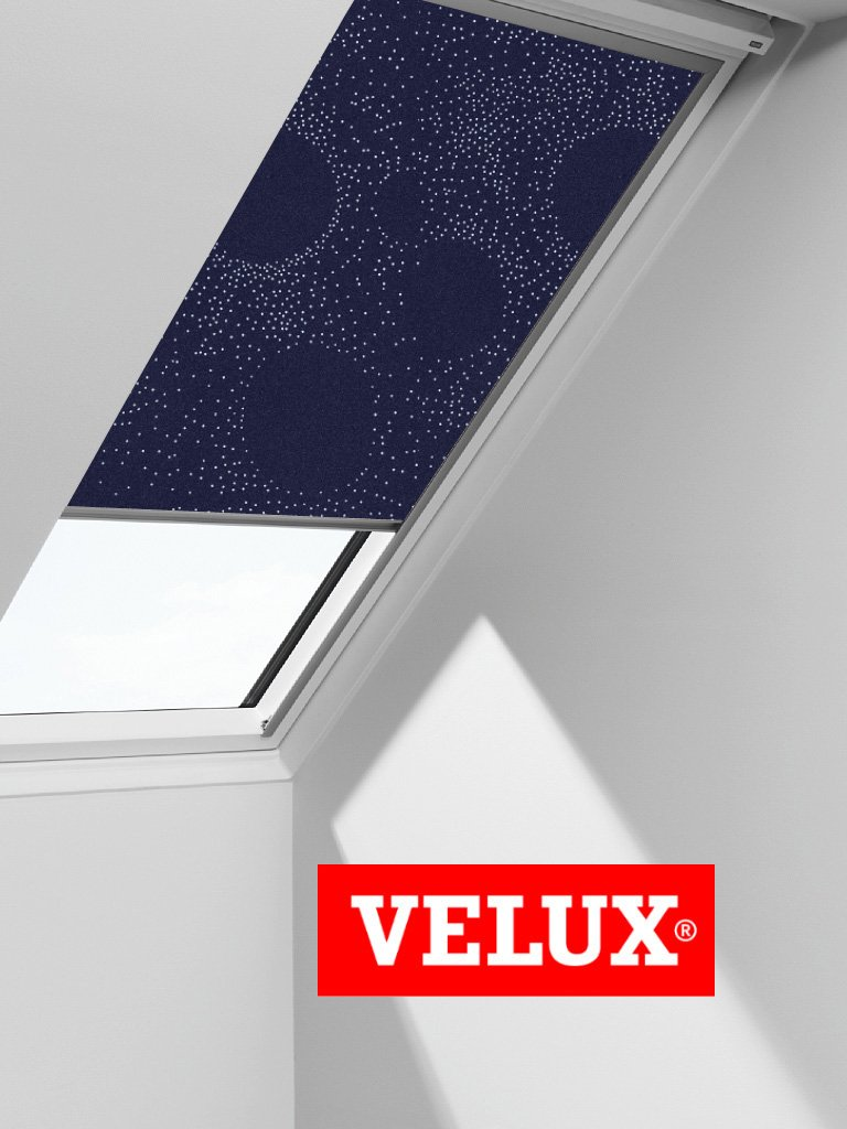 VELUX Blackout Blind Skylight Roof Window Roller in Dark Blue Universe 3121       review and more news