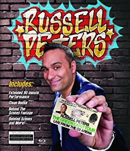 Russell Peters:  The Green Card Tour Live From The O2 Arena [Blu-ray]