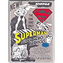 2015 Superman Schedule Book Weekly Planner Agenda Comic A5