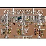 Generic New Over the Door Jewelry Valet Storage Organizer Necklace Bracelets Rings