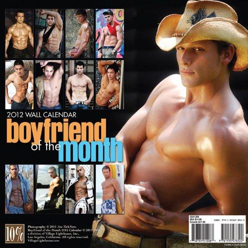 Boyfriend of the Month 2012 Calendar