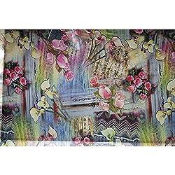 Triveni GEORGETTE Fabrics (TSFD004_Multi)
