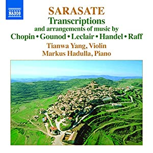 Sarasate : Transcriptions et Arrangements