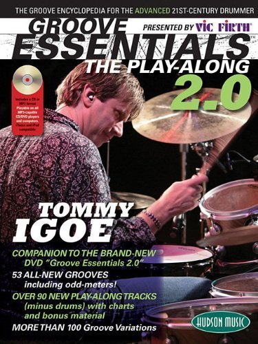 Tommy Igoe Groove Essentials 2.0 - The Play-Along Book/CD [Sheet music], by Tommy Igoe