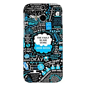 Jugaaduu TFIOS Fancy Back Cover Case For HTC One M8