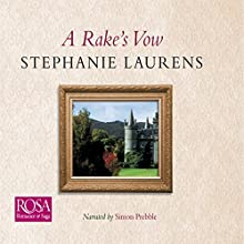 A Rake's Vow: Cynster, Book 2 Audiobook by Stephanie Laurens Narrated by Simon Prebble