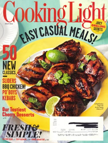 Cooking Light (July 2012, Vol. 26, No. 6)