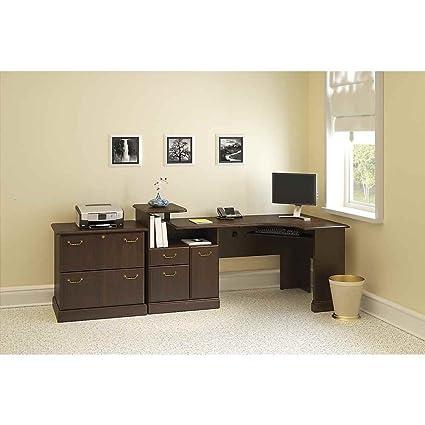 Traditional Expandable Corner Desk