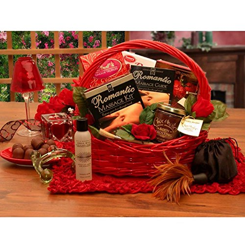 Gift Basket Drop Shipping Romantic Massage Romance Gift Basket (Fondue Roller compare prices)