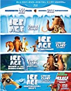 Ice Age Giftset (Ice Age / Ice Age: The Meltdown / Ice Age: Dawn of the Dinosaurs / Ice Age: Continental Drift / Ice Age: A Mammoth Christmas Special) (Bilingual) [Blu-ray + DVD + Digital Copy]