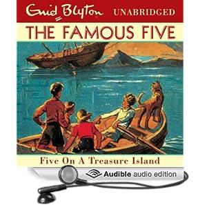 Famous Five Five On A Treasure Island Audio Book
