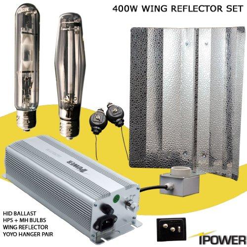 400W Watt Super HPS MH Grow Light System Dimmable.