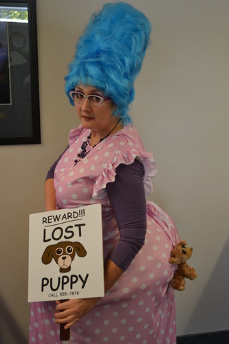 Amazon Com Funworld Womens Lost Puppy Humorous Costume