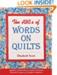The ABC's of Words on Quilts: Appliqu...