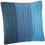 Shahenaz Home Shop Saibya Tri Dori Poly Dupion Cushion Cover - Turquoise