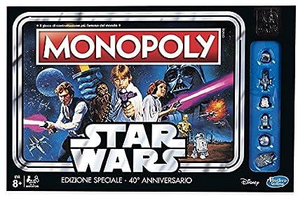HASBRO Monopoly Star Wars - Jeux Société