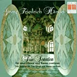 George Frideric Handel Trio Sonatas for Two Oboes and Basso Continuo