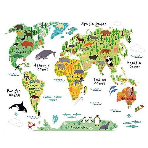 mappa-del-mondo-per-bambini-adesivi-murali-animali-per-bambini-camera-da-letto-camera-dei-bambini-sf