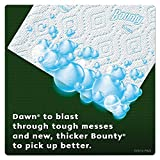 "Bounty 92380 Paper Towels with Dawn, 2-Ply, 11"" x 14"", White (Pack of 6)"
